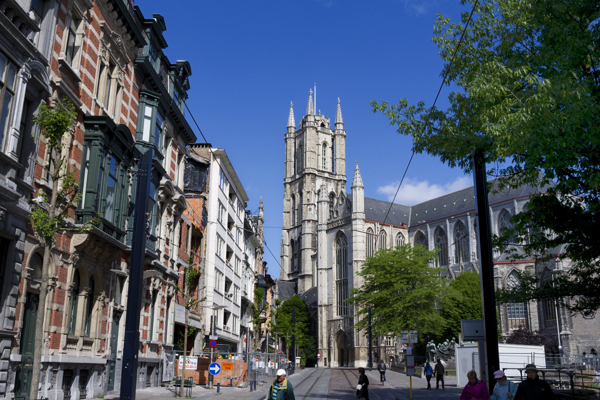 Ghent city photos,it opens with the OdeGand City festivities