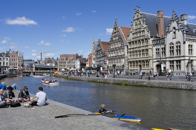 Leica X1 photos from Ghent  is a historic city, yet at the same time a contemporary one