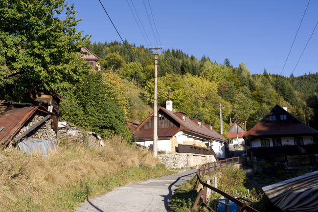 Village Spania Dolina in Slovakia Leica X1 phohotgallery